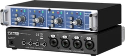 RME QUADMIC2, 4-channel, Class-A Mic/Line Preamp.