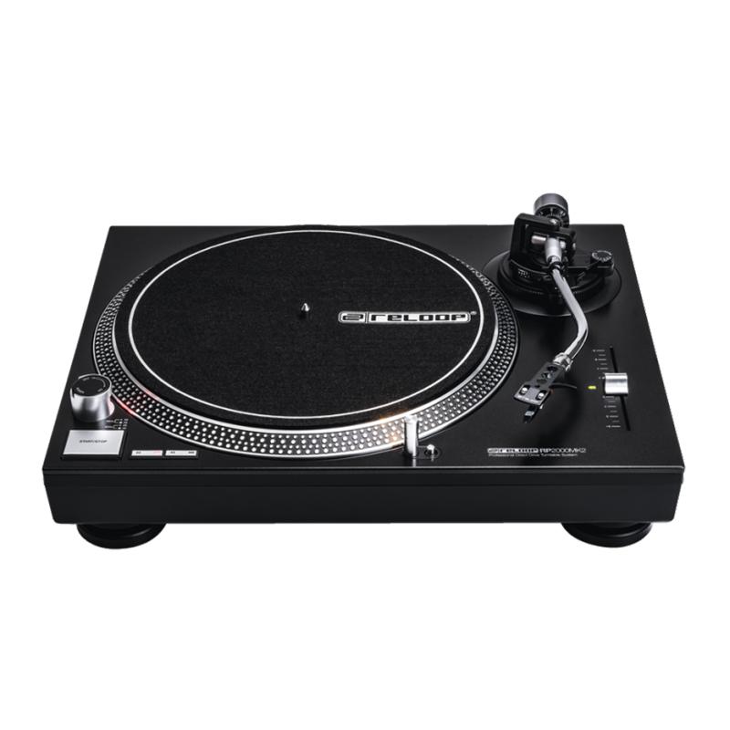 RELOOP RP-2000 Mk2 DJ-skivspelare, quartz direktdriven, metallchassi