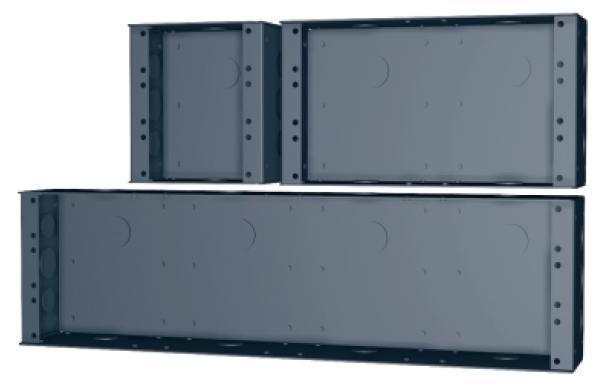 SMRT BOX SB32 Halvrack 2 HE (244 x 138 x 80)