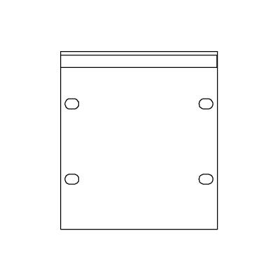 "SMRT Panel SP34  Kvarts 19"" 3HE Blindpanel"