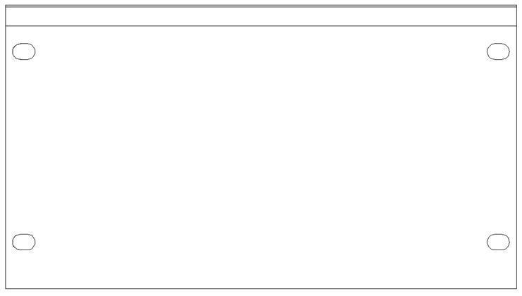 "SMRT Panel SP32  Halv 19"" 3HE Blindpanel"