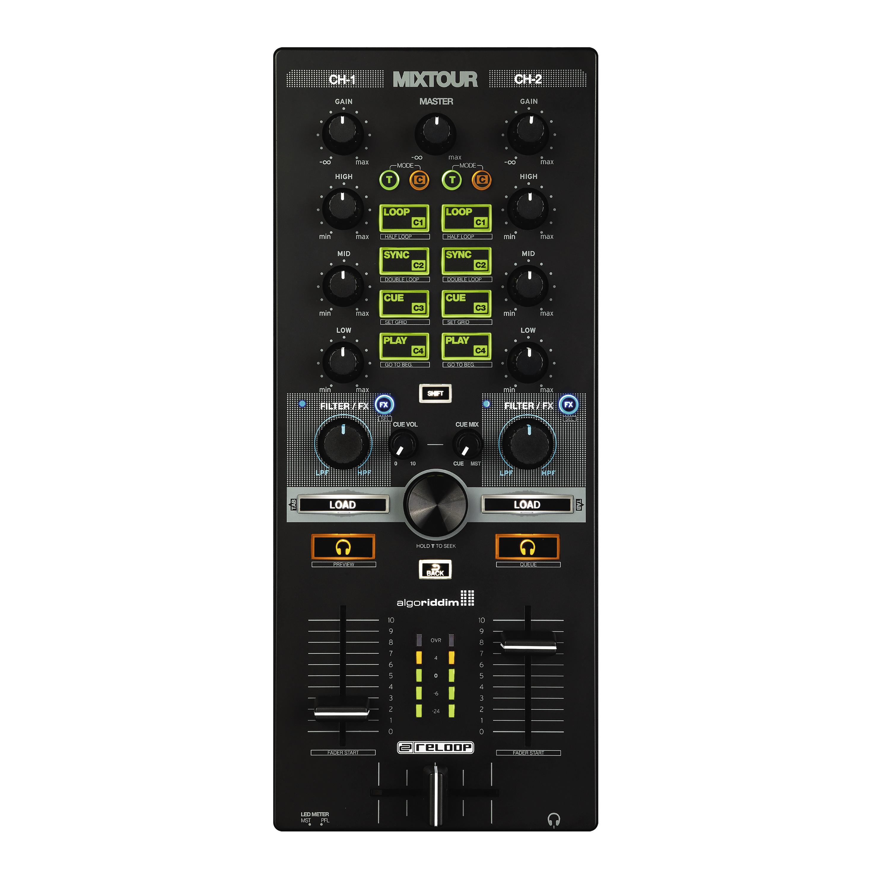 Reloop MIXTOUR portabel Mixer/Controller