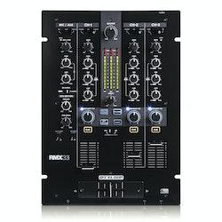Reloop RMX-33i är en 3+1 kanals DJ mixer