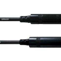 Cordial CFM 3 VK 6,3mm tele, 3m förlängning, svart