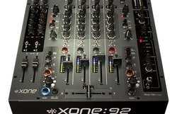 A&H XONE:92 8 into 2 club & DJ mixer Linear Faders