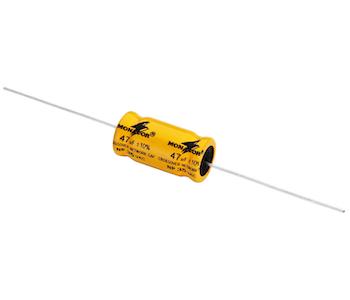 Monacor LSC-470NP Bipolär Elektrolytkond. 47uF (4 st/fpk)