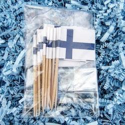 Finska flaggor 15-pack