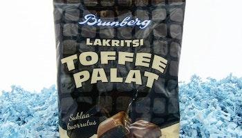 Chokladöverdragen lakritstoffee KORT DATUM