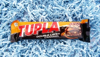 Tupla Double Layer Caramel KORT DATUM 6/11-2020