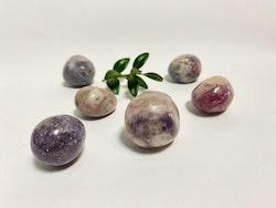 Turmalin rosa lepidolit (cuddle Stone)