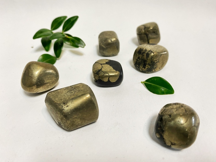 Pyrit  (trumlade) A