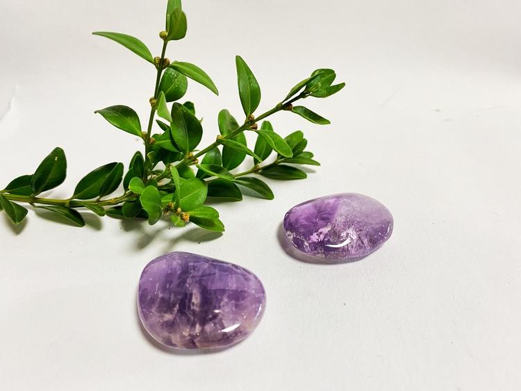 Ametist no worry Stone (trumlade) AA