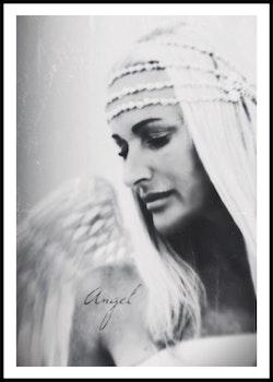 """Angel in white"""