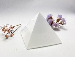 Selenit, vit pyramid AA