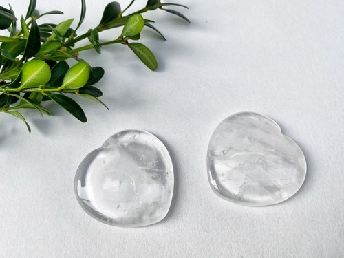 Bergkristall no worry hjärta  AA
