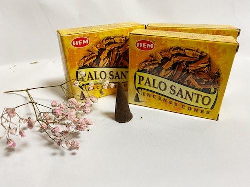 Rökelse, koner Palo Santo