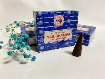 Rökelse, koner Nag champa