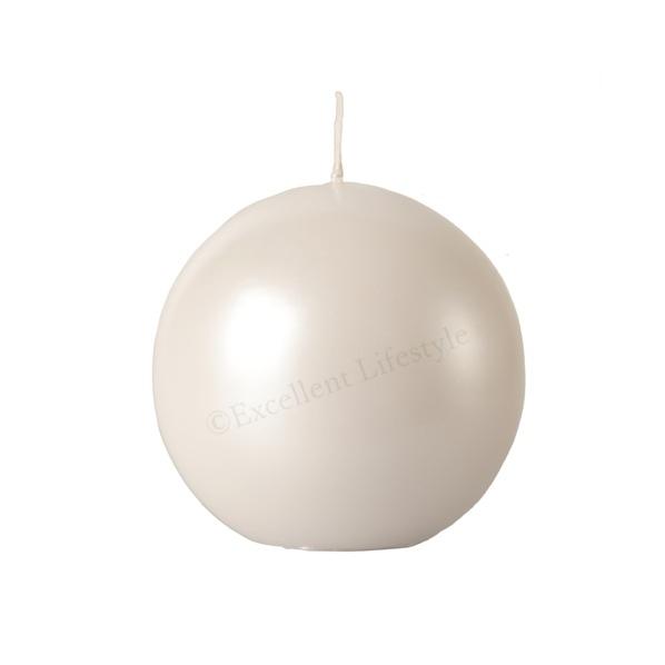 Kulljus - Vit Pärlemor - Ø10cm