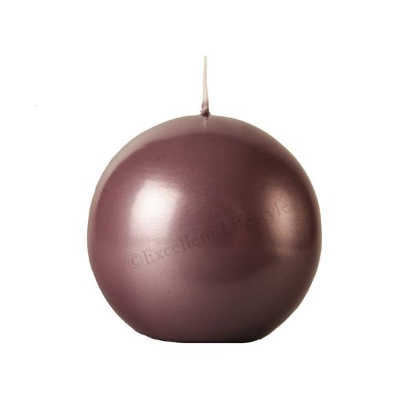 Kulljus - Rosabrun Metallic - Ø10cm