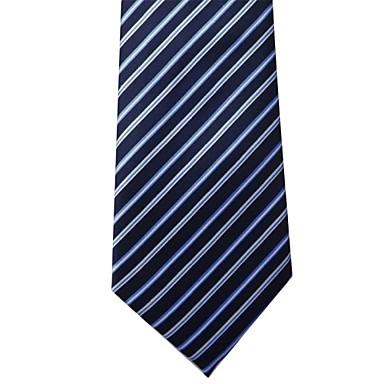 Slips - Blå randig