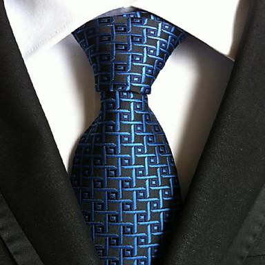 Slips - Blå rutig