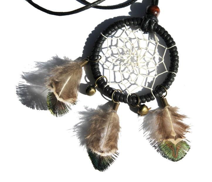 Halsband med drömfångare/dreamcatcher