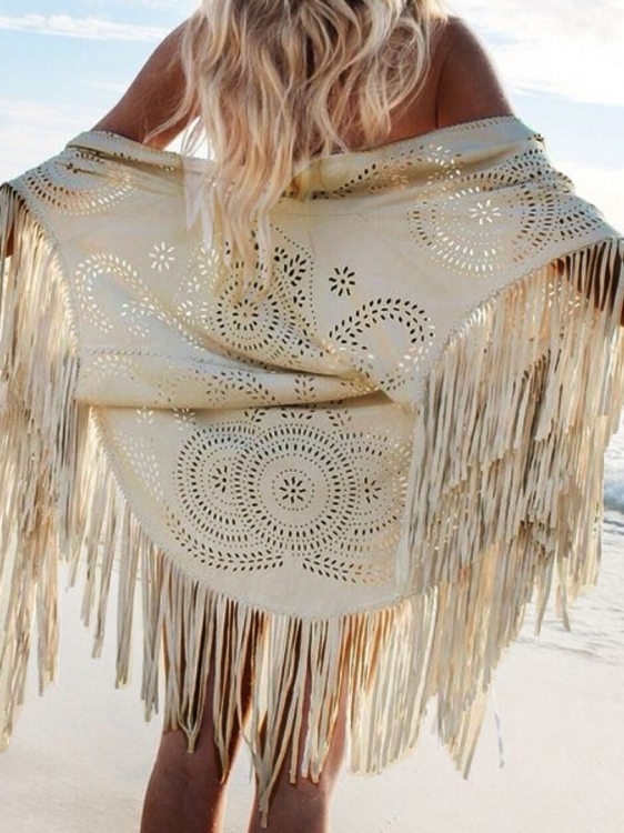 Poncho - Indian Beige