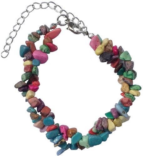 Armband med stenar - Multicolor