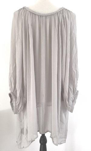 Monrow - Harper blouse grå