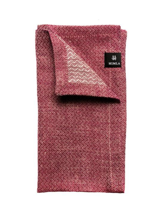 Himla - Washi Napkin true red 2-pack