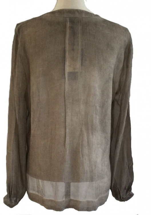 Monrow - Sally blouse (Ash)
