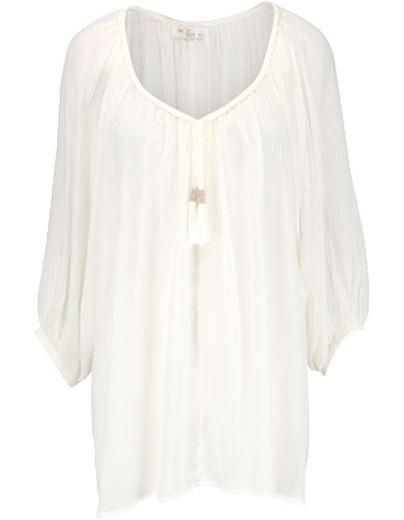 Monrow - Harper blouse vit
