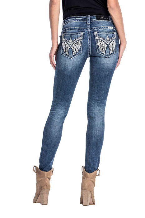 Miss Me - Angel city - Mid-rise skinny jeans