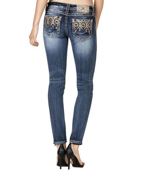 Miss Me - Cubic rosé-gold - skinny jeans