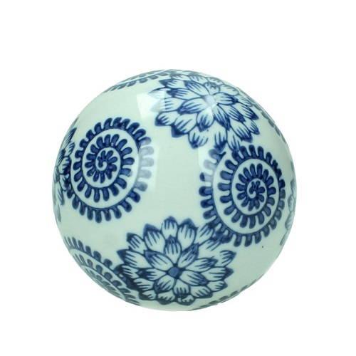 Dekorativt klot i keramik 8 cm