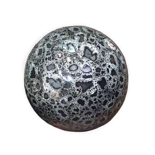 Dekorativt klot i keramik 10 cm Ø