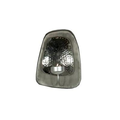 Vägglykta/Lampett - Doda- för värmeljus (silver)