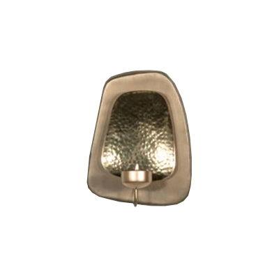 Vägglykta/Lampett - Doda- för värmeljus (guld)