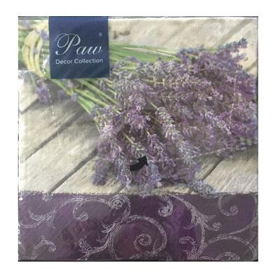 Lavendel - servetter 20-pack