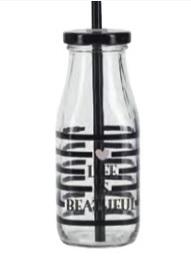 Miss Etoile - glasflaska med lock
