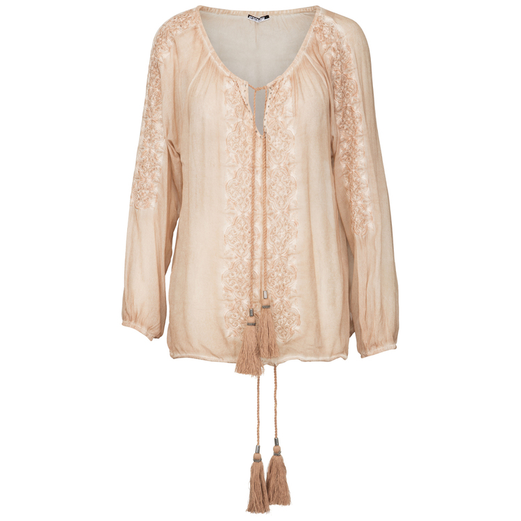 Frontrow - Gael blouse, 100% Viscose Crepe rose