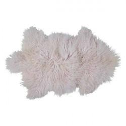 Bahne - Tibetanskt lammskinn rosa