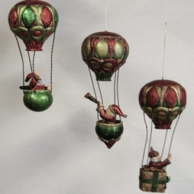 Tomtar i luftballong