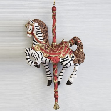 Zebra julgranshänge
