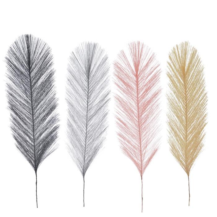 syntetfjäder - 4 olika färger