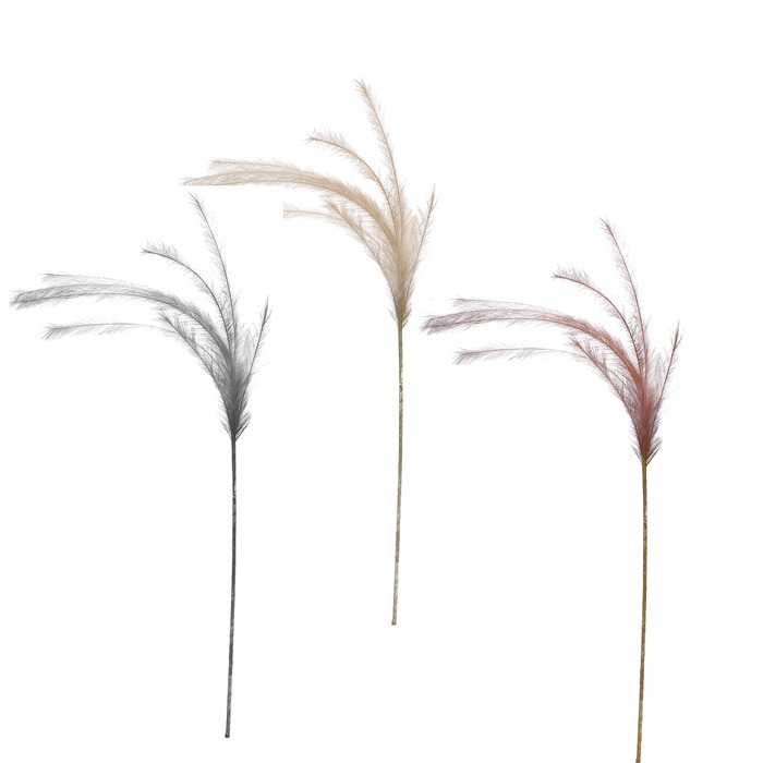 Dekorkvist syntetfjäder - 3 olika färger
