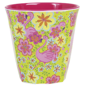 Rice Mugg i Melamin Flamingo