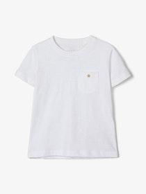 Name it Kids Enfärgad T-shirt Vit