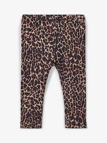 Name it Baby Leopardmönstrad Leggings i Ekologisk Bomull