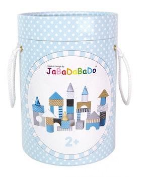 Jabadabado Byggklossar i Trä Blå